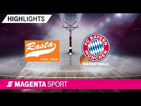 RASTA Vechta – FC Bayern Basketball | 23. Spieltag, 18/19 | MAGENTA SPORT
