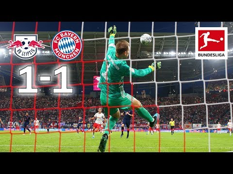 RB Leipzig vs. Bayern München I 1-1 I World-Class Saves From Neuer and Gulacsi – Highlights