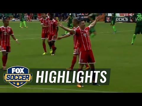 Werder Bremen vs. Bayern Munich | 2017-18 Bundesliga Highlights