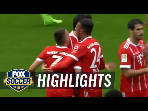 Mats Hummels header puts Bayern in front vs. Hertha Berlin | 2017-18 Bundesliga Highlights