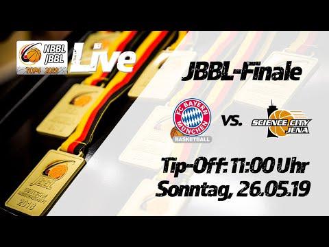 JBBL-Finale 2019: FC Bayern München Basketball – Science City Jena