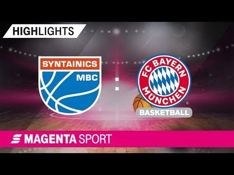 SYNTAINICS MBC – FC Bayern Basketball | 9. Spieltag, 19/20 | MAGENTA SPORT