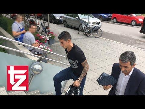 James Rodríguez in München – Neuzugang geht zum Medizincheck (FC Bayern)