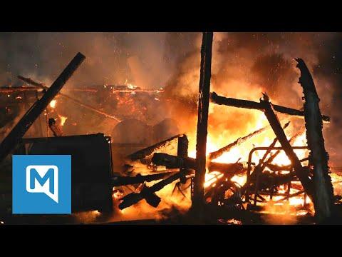 Brandserie in Bayern: Verdächtige in U-Haft – jetzt brennt es wieder