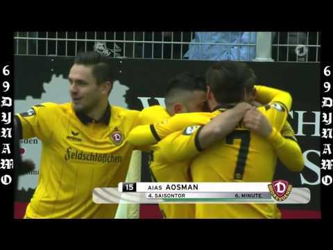 ZUSAMMENFASSUNG CHEMNITZER FC – DYNAMO DRESDEN 2:2 ( 20/2/2016 )