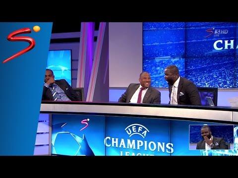 Sammy Kuffour Reaction Bayern v Barcelona