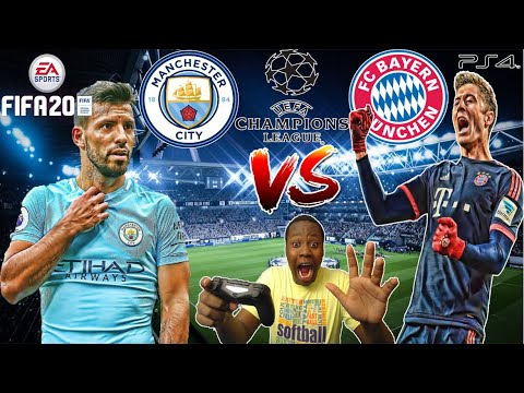 MAN CITY VS BAYERN MUNICH!! FIFA 20 IN KENYA!!
