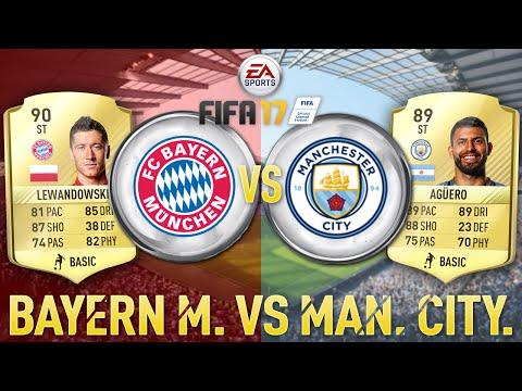 FIFA 17 – Bayern München vs Manchester City