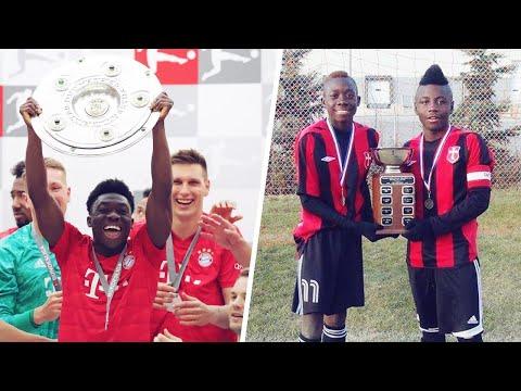 The inspirational journey of Bayern Munich sensation Alphonso Davies | Oh My Goal