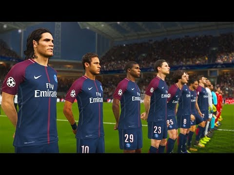 PES 2018 | PSG VS BAYERN MUNICH | UEFA Champions League | Gameplay PS4