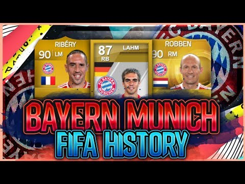 BAYERN MUNICH FIFA ULTIMATE TEAM HISTORY!! FT. LAHM, ROBBEN, RIBERY ETC… (FIFA 20)