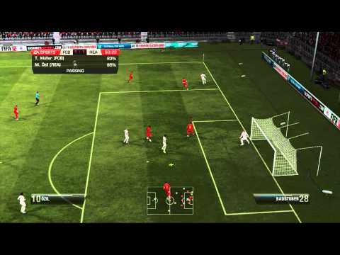 Bayern Munich Vs Real Madrid (FIFA 12)