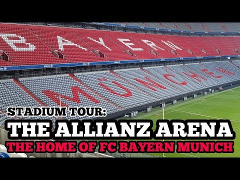 STADIUM TOUR: The Allianz Arena: The Home of FC Bayern Munich