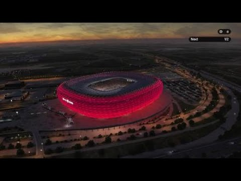 EfootballPES2020 Allianz arena amazing exterior