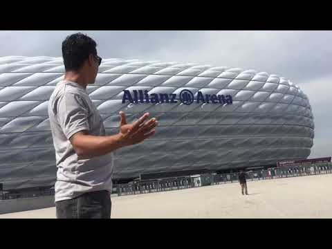 Tour the Allianz Arena FC Bayern Munchen 2018