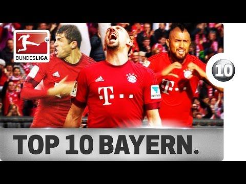 Top 10 Goals – FC Bayern München – 2015/16