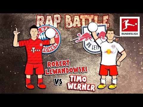 Lewandowski vs. Werner Topscorer Rap Battle – FC Bayern München vs. RB Leipzig – Powered by 442oons