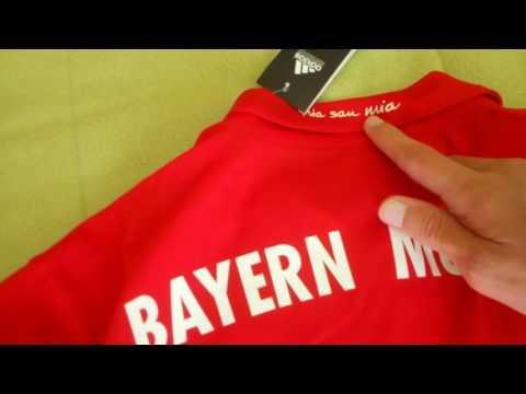 Bestcheapsoccer.com 16-17 Bayern Munchen home jersey – Review – Unboxing