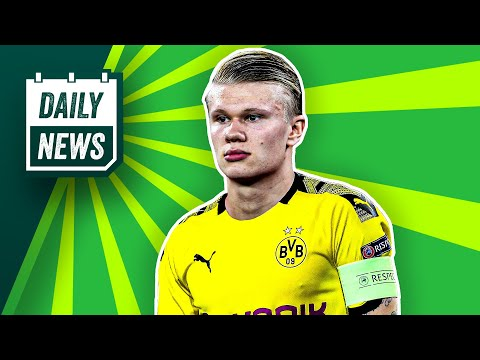 Haaland vor Transfer zum BVB! FC Bayern: Entwarnung bei Coman!