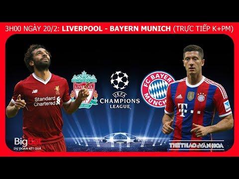 Soi kèo Liverpool vs Bayern Munich (3h00 ngày 20/2). Vòng 1/8 Champions League. Trực tiếp K+PM