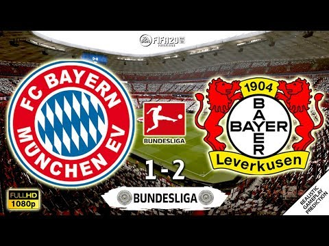 Bayern Munich vs Bayer Leverkusen 1-2 | Bundesliga 2019/20 | 30/11/2019 | FIFA 20
