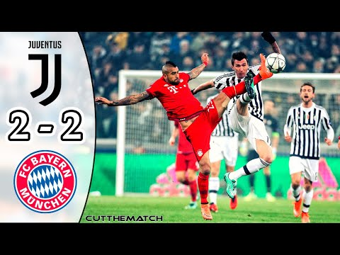 Juventus vs Bayern Munich 2-2 | All Goals & Highlights | UCL 2015/16