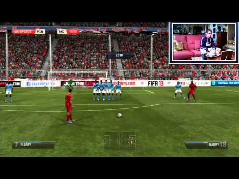 Fifa 13 Online en 2.0 / #1 / FC Bayern vs Manchester City / Enfado épico xD