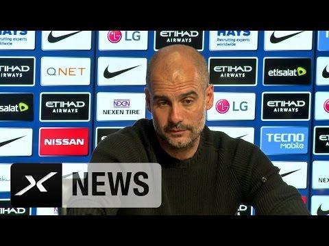 Pep Guardiola: Druck beim FC Bayern München ist größer | Manchester City – West Bromwich Albion