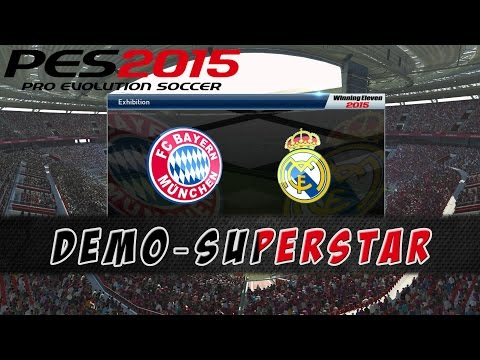 PES 2015 Demo – FC Bayern München vs Real Madrid | Superstar [PS4]