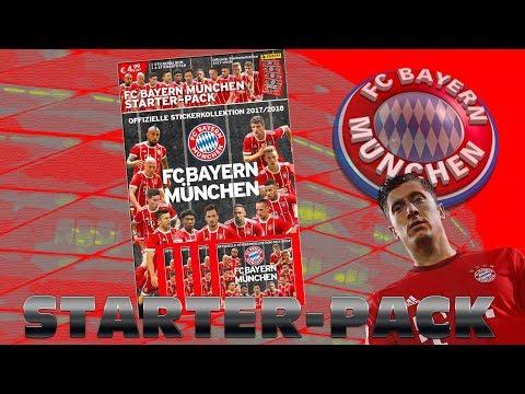 FC BAYERN MÜNCHEN 2017/18 STICKER STARTER PACK
