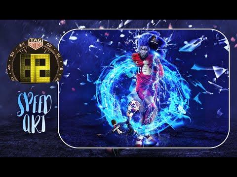 12 | Sonic | alphonso Davies | Bayern Munich | 360Sport | Speed Art
