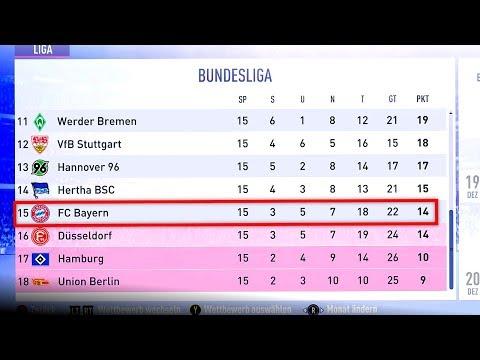 FIFA 19 : WARUM IST DER FC BAYERN 2023 AUF PLATZ 15 ?!! 😳😂 1860 Karriere #59