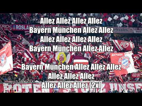 FC Bayern Fan Songs | Südkurve München chants Part 4