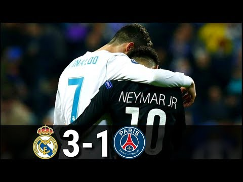 Real Madrid vs PSG 3-1-  UCL-2017/2018 | Highlights and goals
