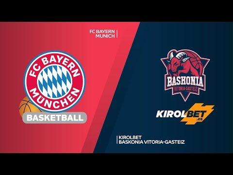 FC Bayern Munich – KIROLBET Baskonia Vitoria-Gasteiz Highlights | EuroLeague, RS Round 27