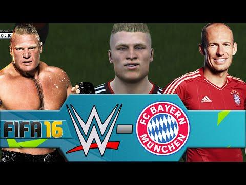 WWE vs FC Bayern Munich (FIFA 16 PS4)