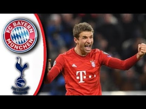 Bayern Vs Tottenham 3-1  UEFA Champions League 11/12/2019