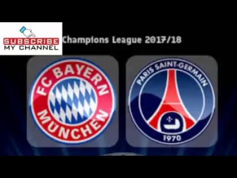 BAYERN M. VS PSG 3-1 CHAMPION'S LEAGUE