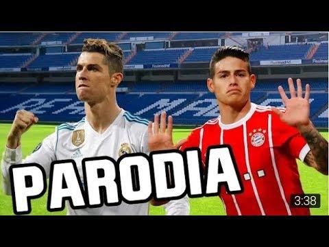 Canción Real Madrid VS Bayern Munich (Parodia Maluma – El Préstamo) 2-2 FRAN MG RESUBIDO