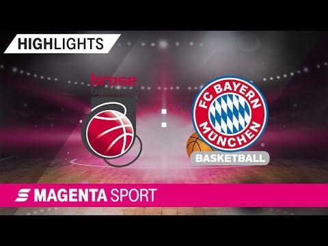 Brose Bamberg – FC Bayern München | 14. Spieltag, 19/20 | MAGENTA SPORT