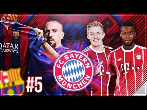 RIBERY wechselt zu BARCELONA!! 🔥🔥 WER wird der NACHFOLGER!?? 🤔😳 – FIFA 18 FC Bayern Karriere #5