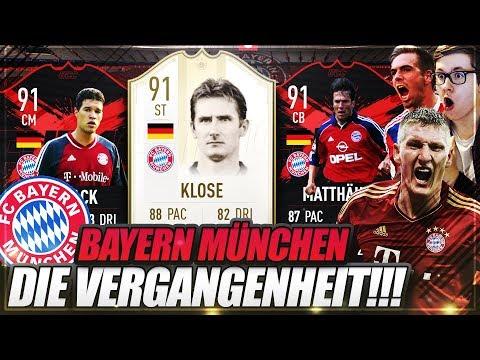 FIFA 19: FC BAYERN MÜNCHEN DIE VERGANGENHEIT!! ICON MATTHÄUS, KLOSE, BALLACK ULTIMATE TEAM 😱😱