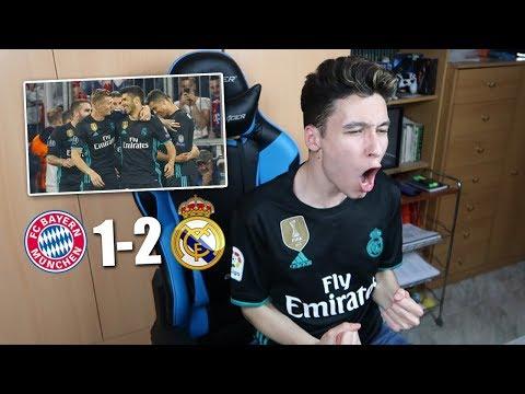 REACCIONES DE UN HINCHA Bayern Munich vs Real Madrid 1-2 SEMIFINAL CHAMPIONS [ByDiegoX10]