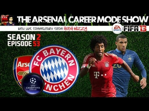FIFA13: Arsenal Career Mode: #115: Wilshere and Aubergine, Bayern Munich 2nd Leg