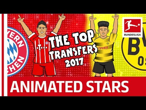 Top Bundesliga Transfers 2017 – The Song – Powered by 442oons