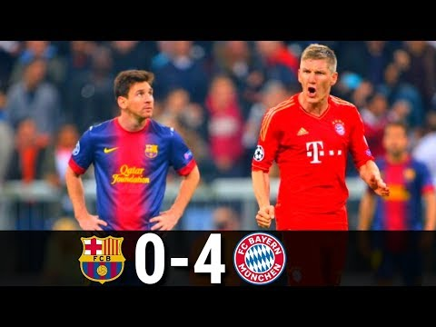 Barcelona vs Bayern Munich 0-4 UCL-2012/2013 | Highlights and Goals