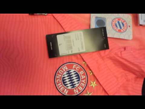 20160303 2015 Q4 ADIDAS BAYERN MUNCHEN 2015-16 MEN UCL FOOTBALL SOCCER TRAINING TRACKSUIT S27498