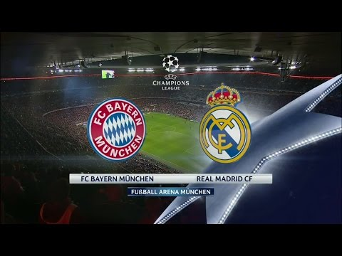 Bayern Munich vs Real Madrid Full Match 1st Half – UEFA Champions League 12th April 2017