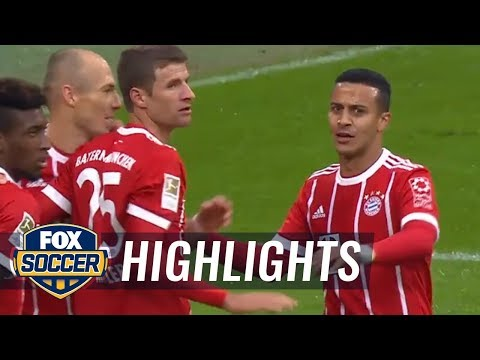 Bayern Munich takes early lead over Mainz | 2017-18 Bundesliga Highlights