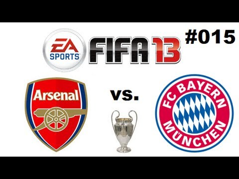Let´s Play FIFA 13 Together #015 – FC Arsenal vs. FC Bayern München -Champions League Achtelfinale